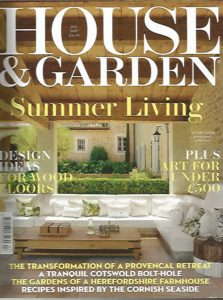 HOUSE AND GARDEN JULY 2017 1/2
