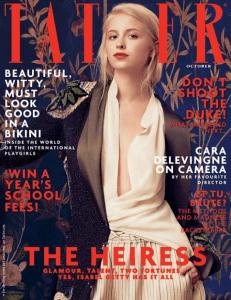 Tatler October cover featuring the Artisan TESA sideboard.
