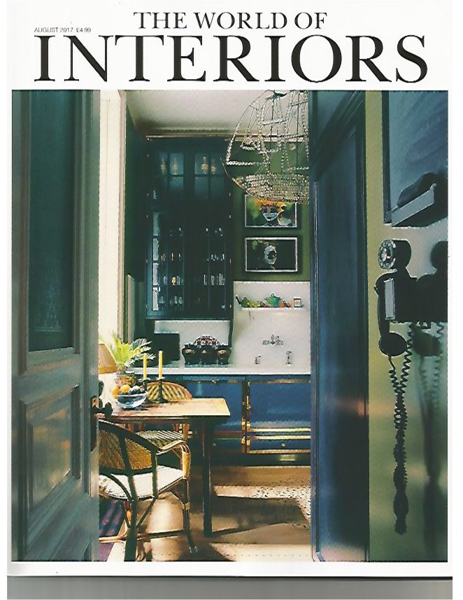 THE WORLD OF INTERIORS AUGUST 2017 1/2