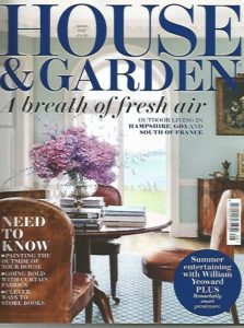 HOUSE AND GARDEN AUGUST 2017 COVER