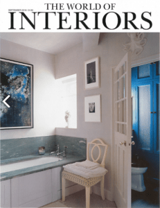 The World of Interiors is acknowledged as one of the most influential, inspiring and lavishly produced design and decoration magazines.