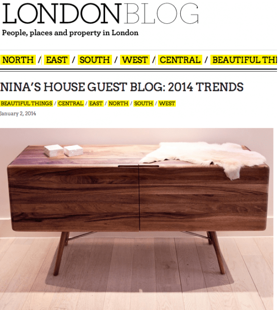 Completely London Blog FP. Featured: TESA sideboard (1/2)