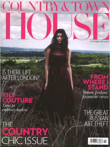 Country & Town House Magazine. Featured: LAKRI table (1/2)